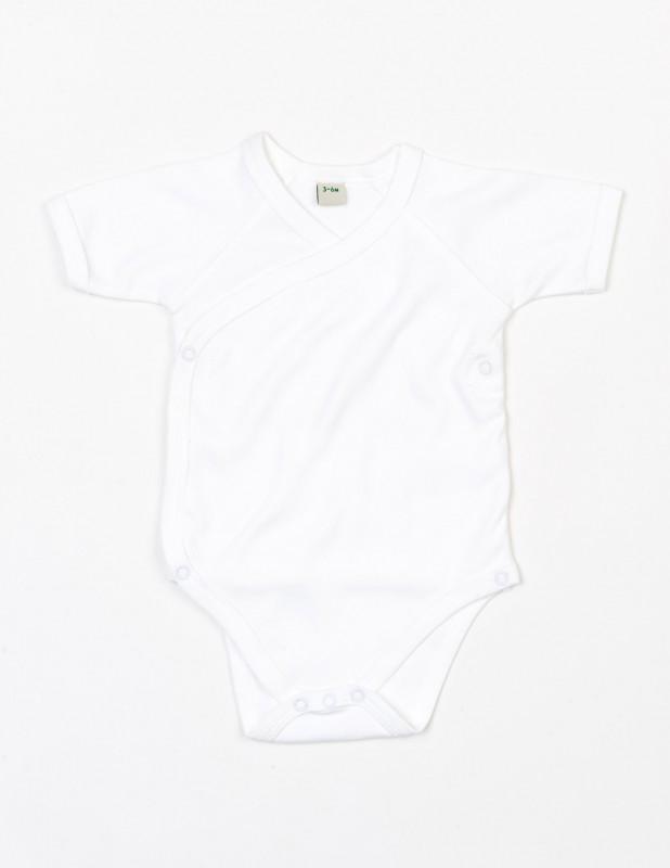 Organic Baby Kimono Bodysuit