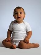 Baby Organic V-neck Bodysuit