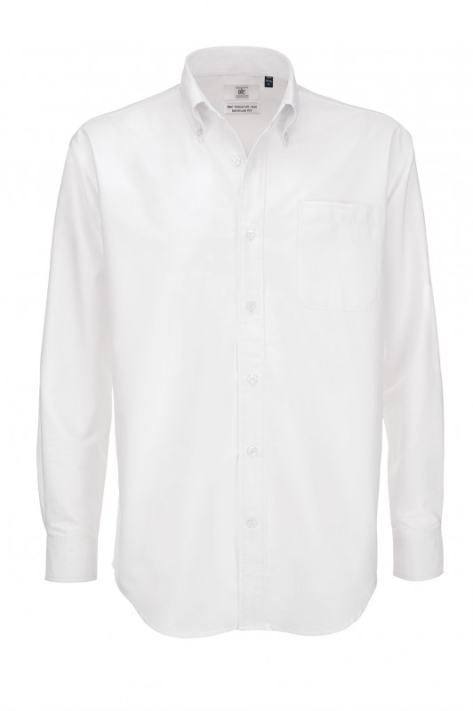 Men`s Oxford Long Sleeve Shirt