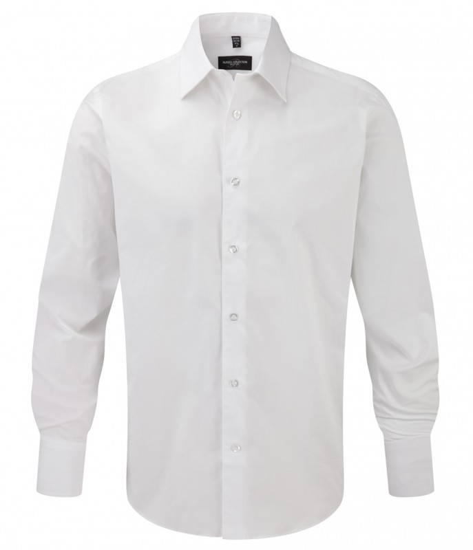 Tailored Longsleeve Stretch Shirt