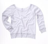Sponge Fleece Wideneck Sweatshirt