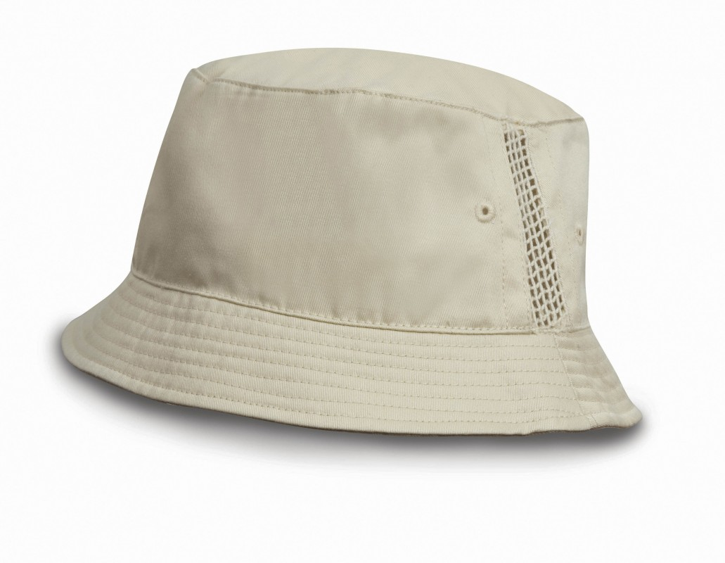Sporting Hat with Mesh Panels