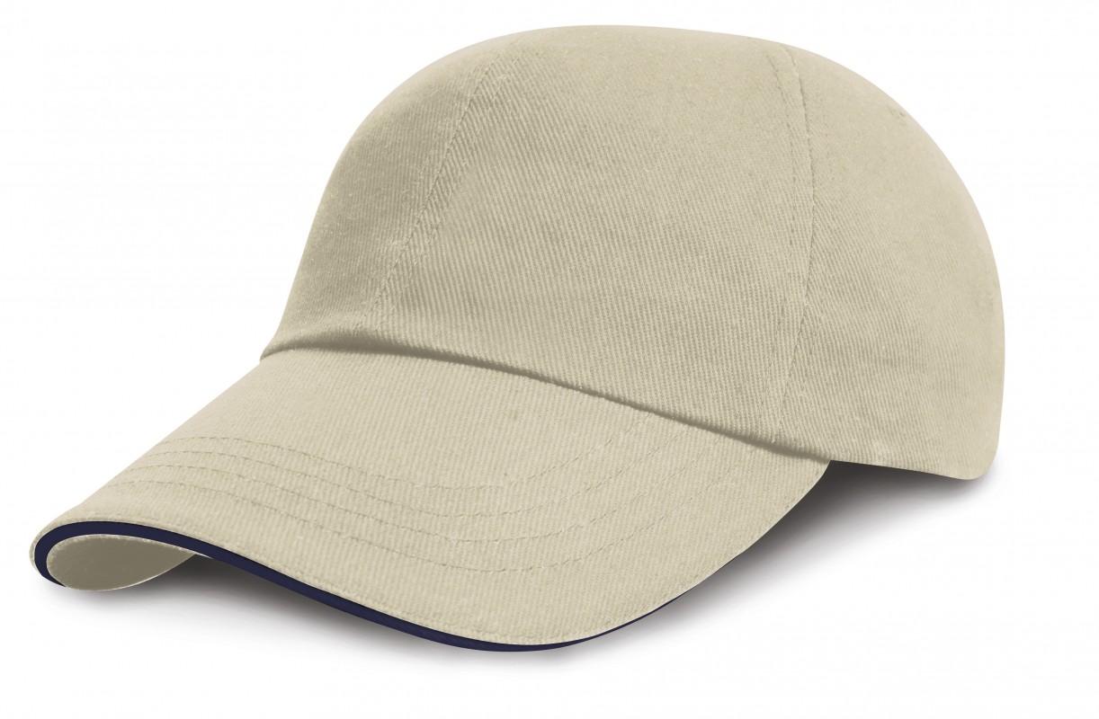 Kids Brushed Cotton Twill Cap