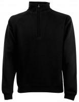 Zip-Neck Sweatshirt