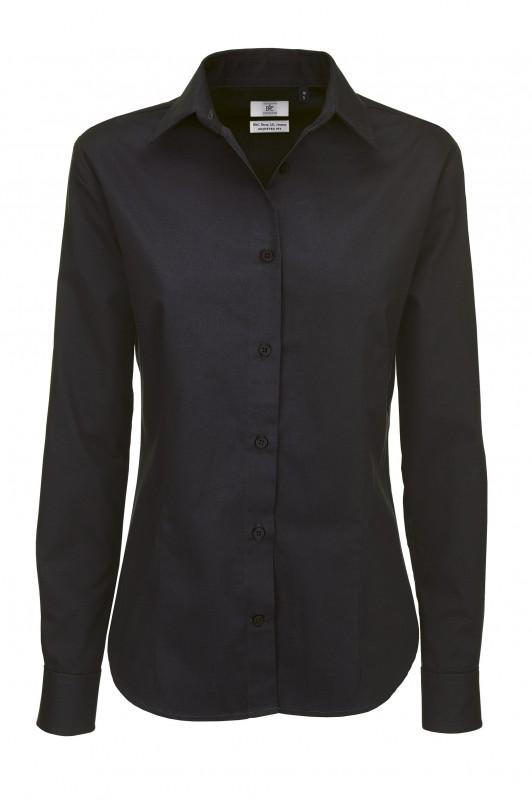 Ladies` Sharp Twill Long Sleeve Shirt