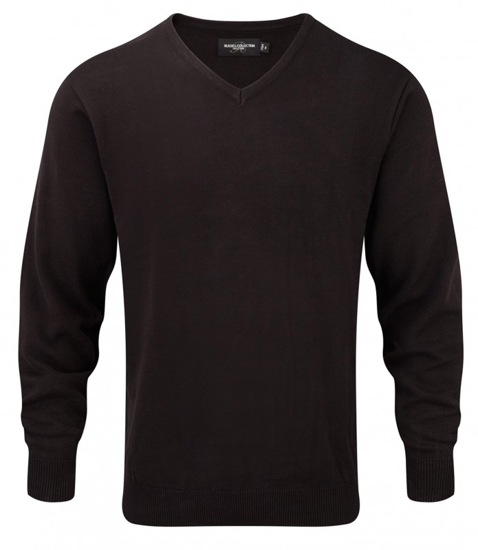 V-Neck Knit Pullover