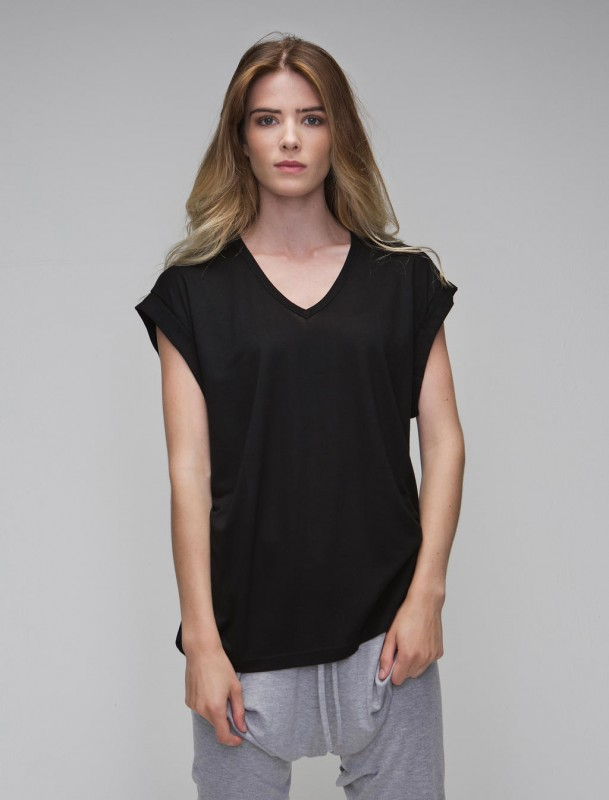Women`s Duo Blend V-Neck Tunic