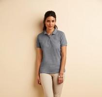 Premium Cotton Ladies` Double Piqué Polo