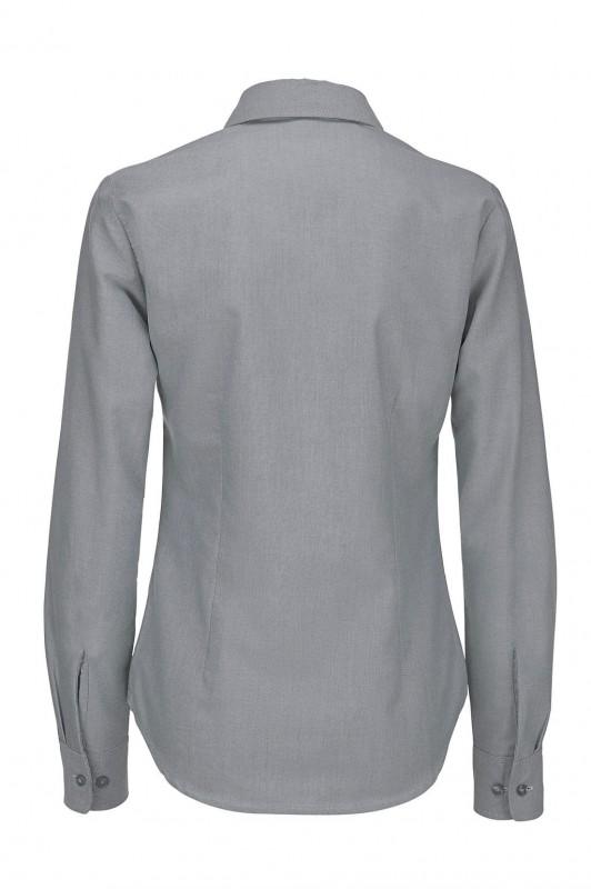Ladies` Oxford Long Sleeve Shirt