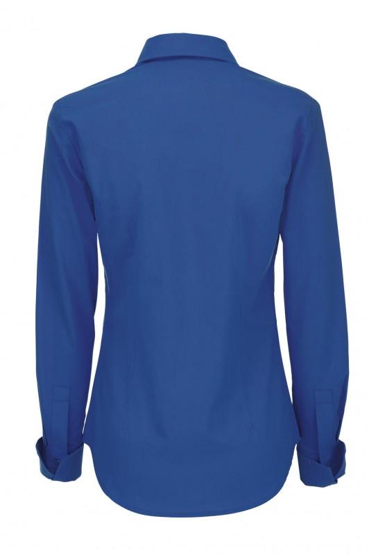Ladies` Heritage Long Sleeve Poplin Shirt