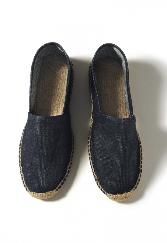 Ladies` Denim Espadrille