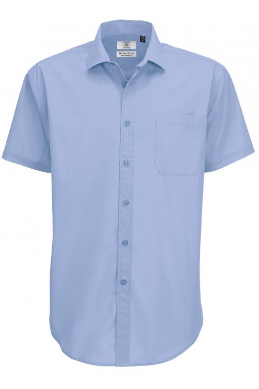 Men`s Smart Short Sleeve Shirt