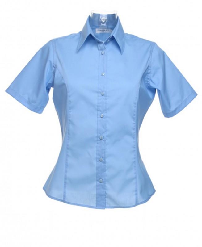 Business Ladies Shirt Short Sleeve