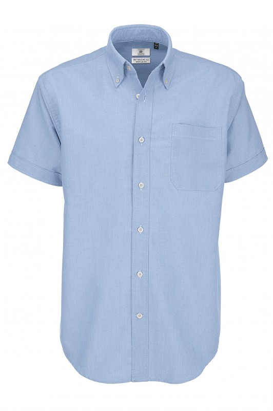 Men`s Oxford Short Sleeve Shirt