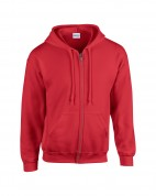 Heavyweight Full Zip Hooded Sweat