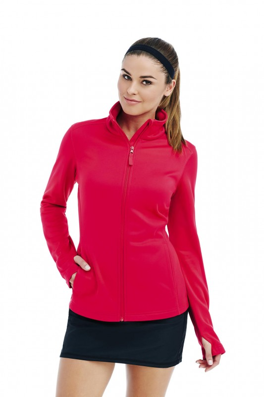 Active Bonded Fleece Jacket Women