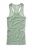 Sheer Racerback Tank Top