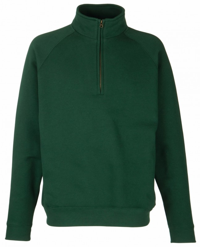 Zip Neck Sweat