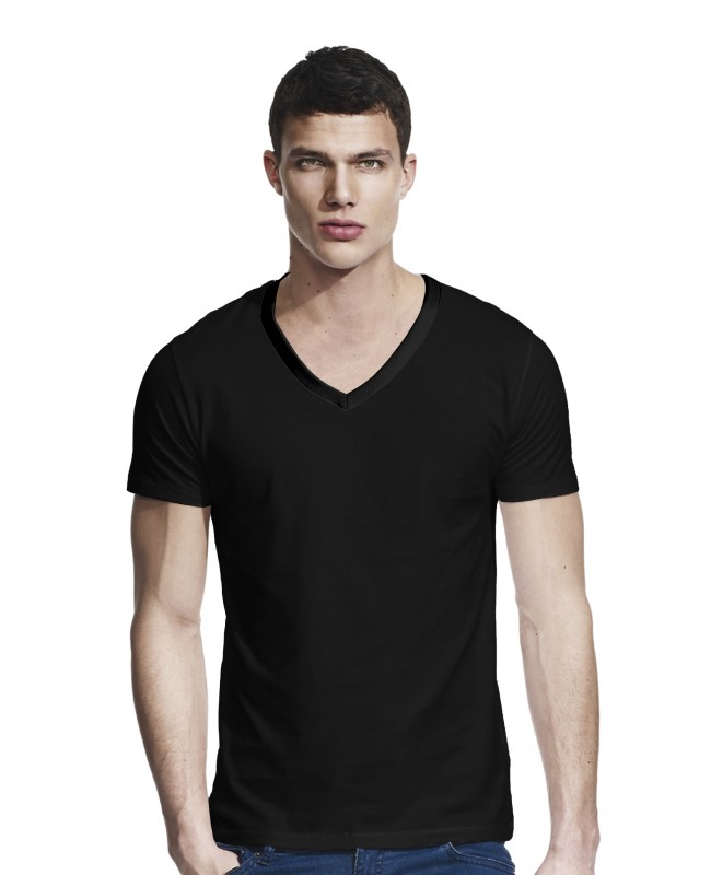 Men's Slim fit V-neck T