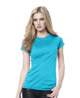 Woman's Organic Slim-Fit T