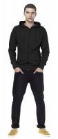 Men's Organic Fashion Zip Hoody