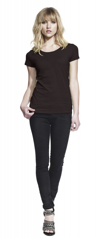 Woman's Regular Fit Round Neck