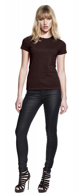 Ladies Slim fit Jersey T