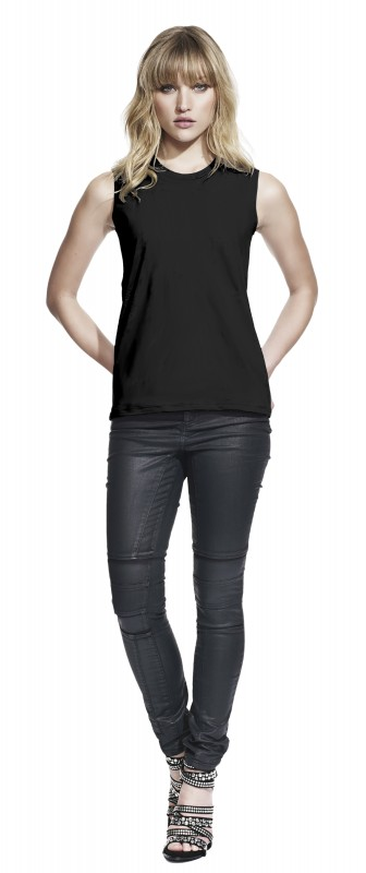 Woman's Sleeveless Jersey T