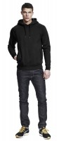 Unisex Pullover Hood/Side Pockets