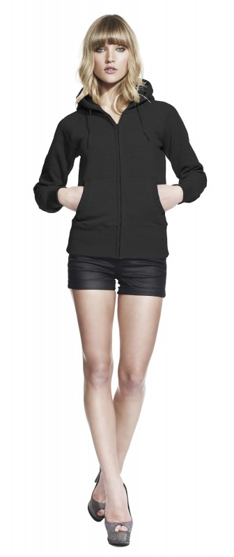 Woman's Zip Hooded Sweat