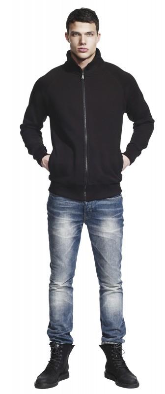 Men's Sweat Jacket/Pockets