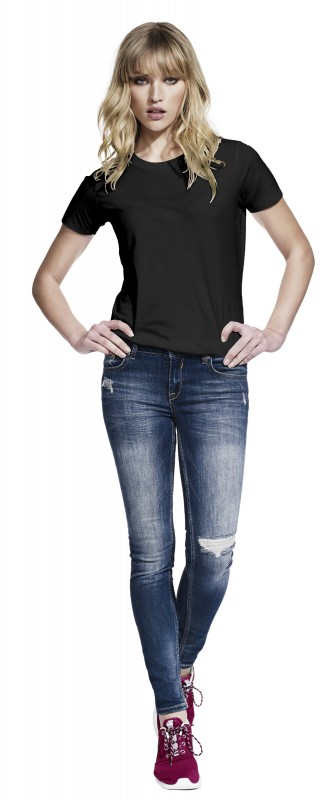 Women's Urban Brushed Jersey T